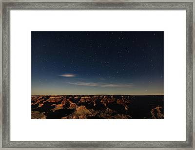 Moon Shadow  Framed Print by James Marvin Phelps