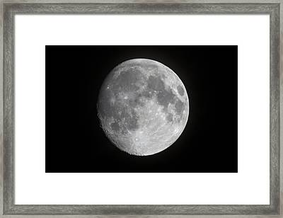 Moon Shot Framed Print