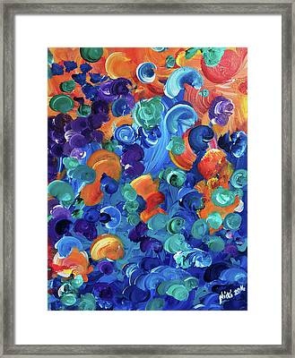 Moon Snails Back To School Framed Print
