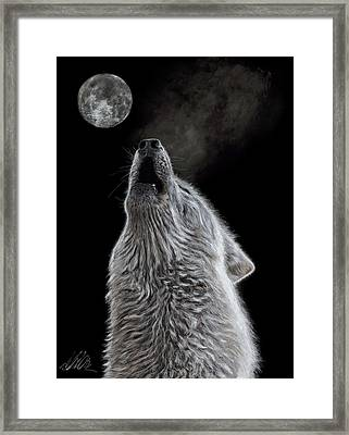 Moon Song Framed Print by Terry Kirkland Cook