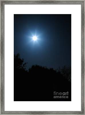Moon Star Framed Print by Hideaki Sakurai