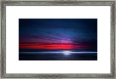 Moon Tide Framed Print by Mark Andrew Thomas