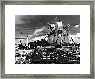 Moon Walker Framed Print