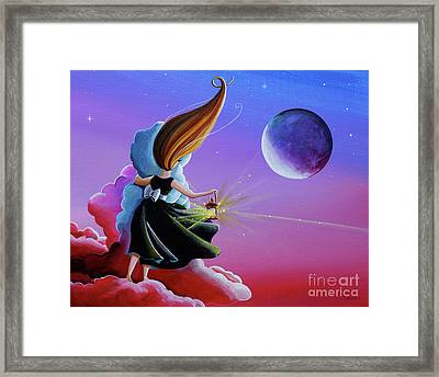 Moon Whisperer Framed Print by Cindy Thornton