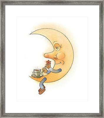 Moon02 Framed Print by Kestutis Kasparavicius