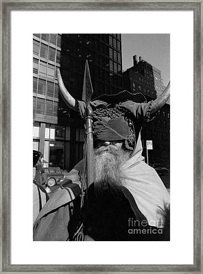 Moondog Nyc Tom Wurl Framed Print
