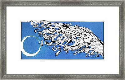 Moonflight Framed Print