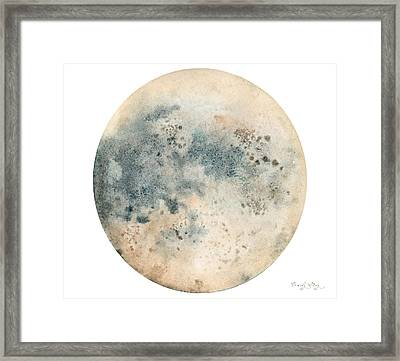 Moonglow Framed Print by Emily May Studio Arts