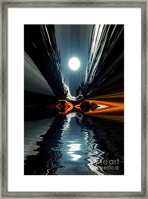 Moonlake Framed Print