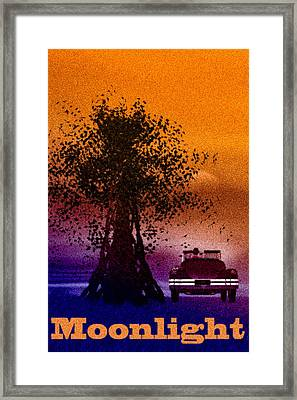 Moonlight Framed Print by Bob Orsillo