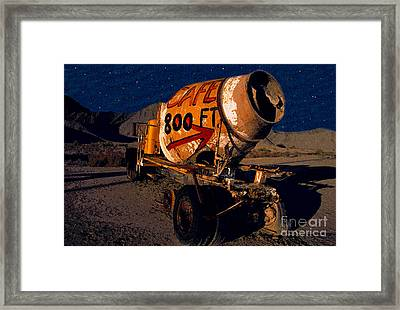 Moonlight Cafe Framed Print by David Lee Thompson