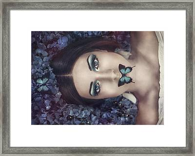 Moonlight Dance Framed Print by Antonia Glaskova