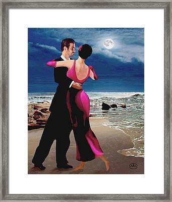 Moonlight Dance Framed Print
