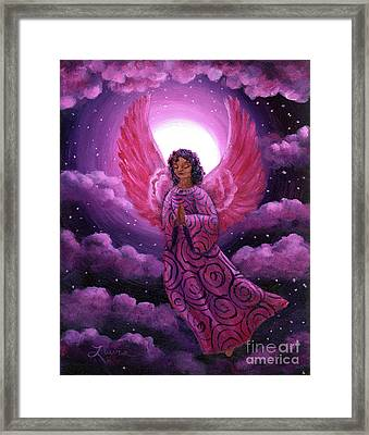Moonlight Hope Framed Print by Laura Iverson