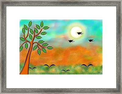Moonlight-ii Framed Print