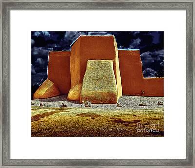 Moonlight In Ranchos Framed Print