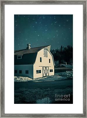 Moonlight In Vermont Framed Print by Edward Fielding
