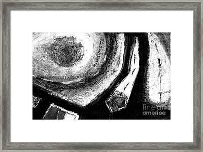 Luz De Luna / Moonlight -horizontal Format Framed Print by Laura Gomez