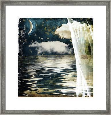 Moonlight Lullabye Framed Print