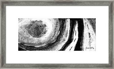 Moonlight - Luz De Luna- Long Horizontal Strip Format Framed Print by Laura Gomez