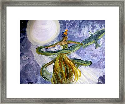 Moonlight Majesty Framed Print
