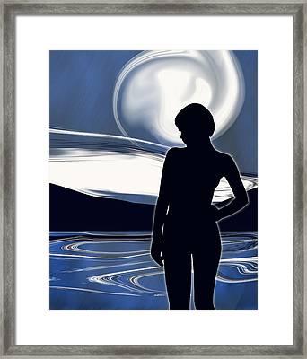 Moonlight Masquerade Framed Print by Mark Wootton