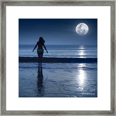 Moonlight Framed Print