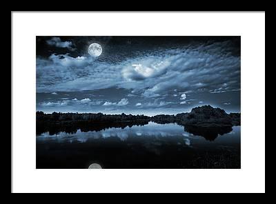 Dark Sky Framed Prints