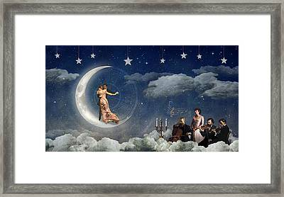 Moonlight Quartet Framed Print by Alexei Gural