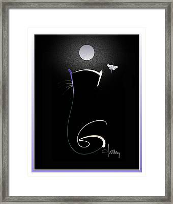 Moonlight Rendezvous 3 Framed Print