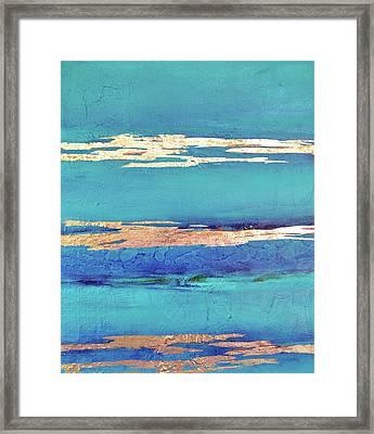 Moonlight Sea Framed Print by Filomena Booth