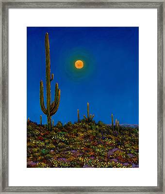 Moonlight Serenade Framed Print by Johnathan Harris