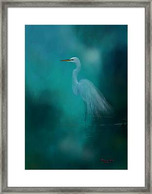 Framed Print featuring the photograph Moonlight Serenade by Marvin Spates