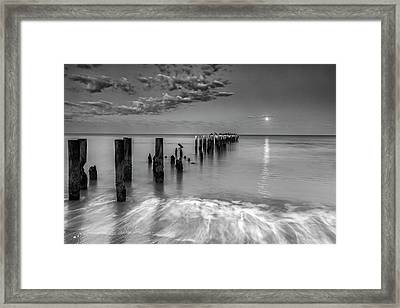 Framed Print featuring the photograph Moonlight Serenade by Mike Lang