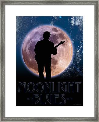 Moonlight Serenade Framed Print by WB Johnston