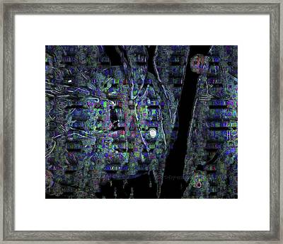 Moonlight Shadow Framed Print by Mimulux patricia no No