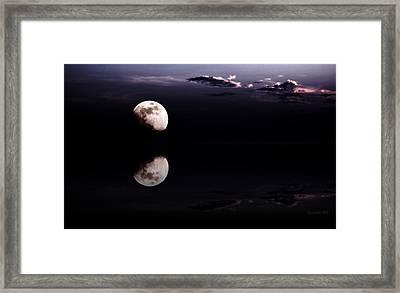 Moonlight Shadow Framed Print by Steve K