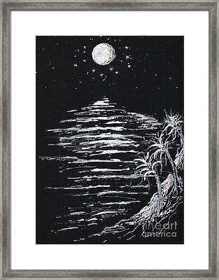 Moonlight Shadow Framed Print