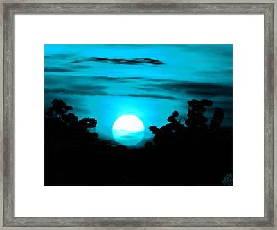 Moonlight Sonata  Framed Print