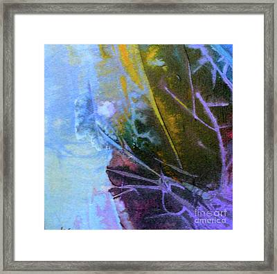 Framed Print featuring the painting Moonlight Sonata by Mary Sullivan