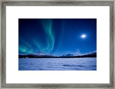 Moonlight Sonata Framed Print by Tor-Ivar Naess