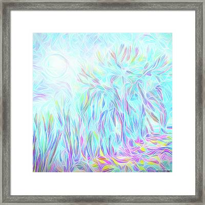 Moonlight Transcendence Framed Print