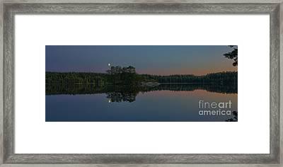 Moonlight Framed Print by Veikko Suikkanen