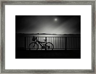 Moonlighting Framed Print by Cho Me