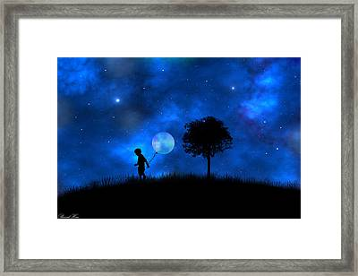 Moonlight Shadow Framed Print