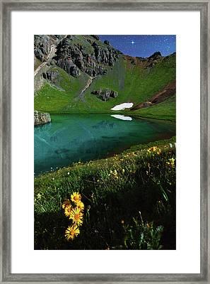 Moonlit Colorado Dreamscape Framed Print