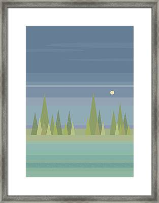 Moonlit Dreams Framed Print by Val Arie