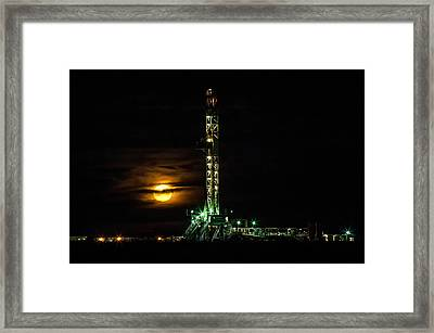 Moonlit Framed Print