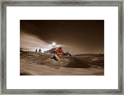 Moonlit  Framed Print