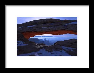 National Park Framed Prints